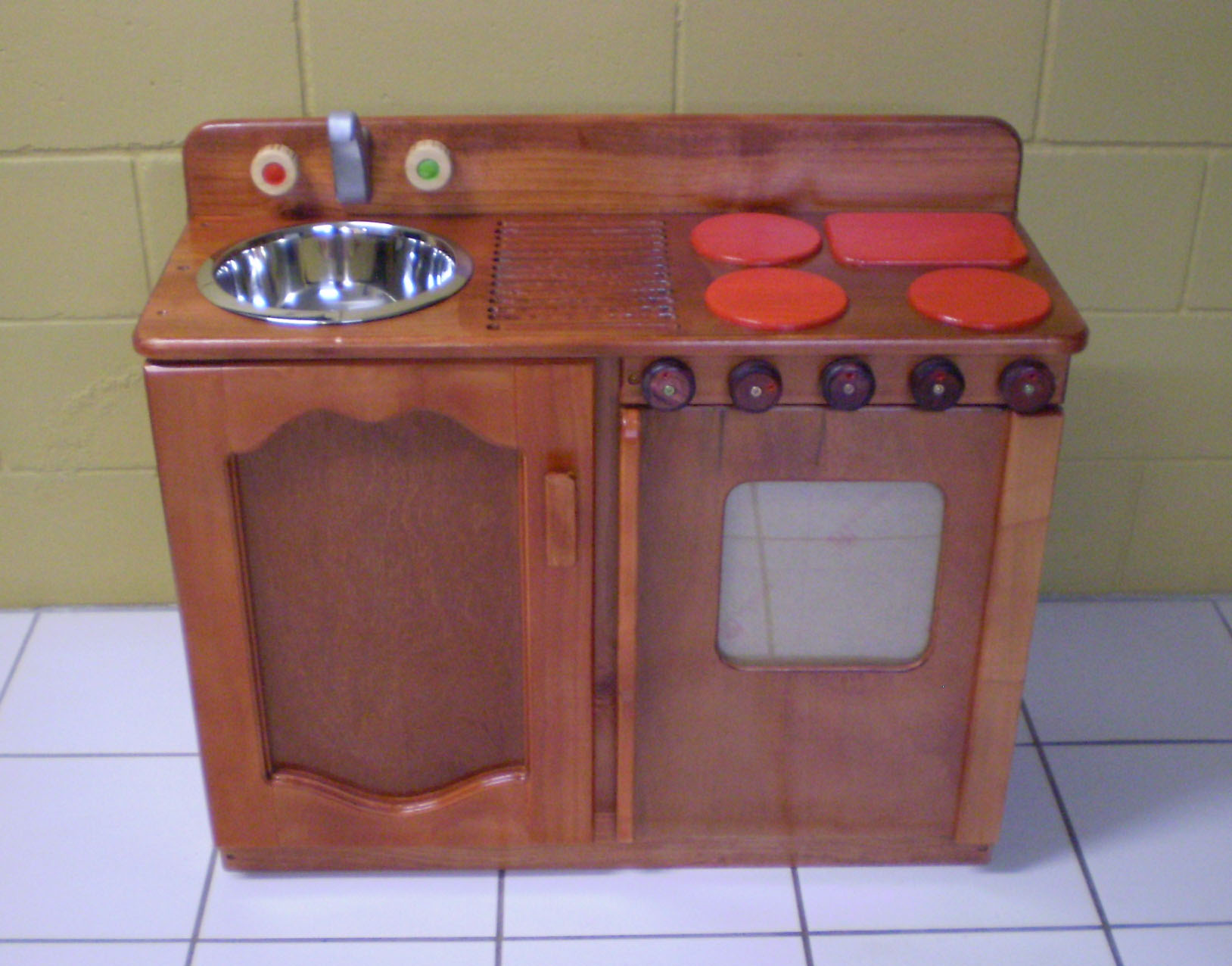 Wooden Sink Stove plan