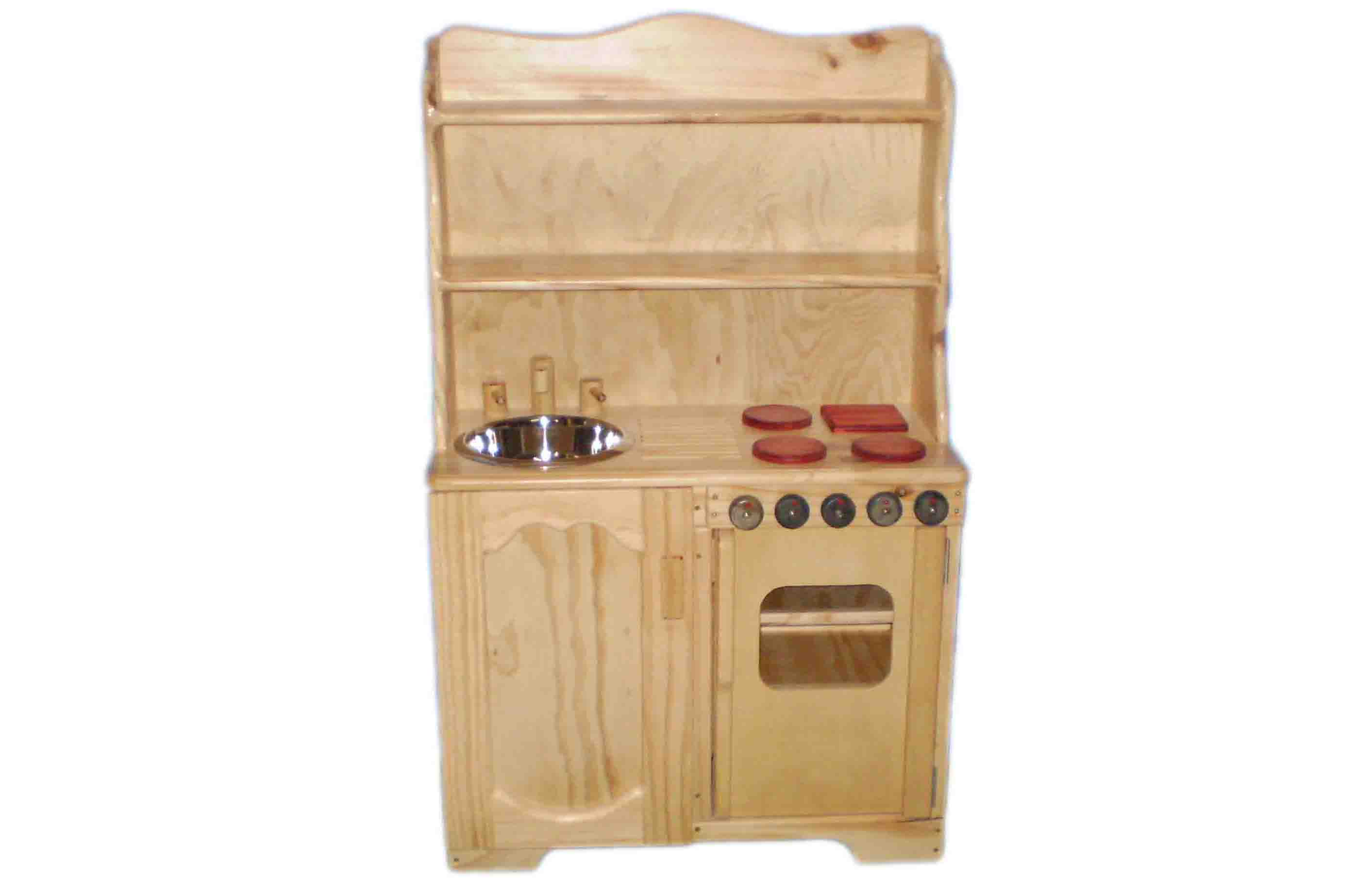 Hutch sink stove combination plan