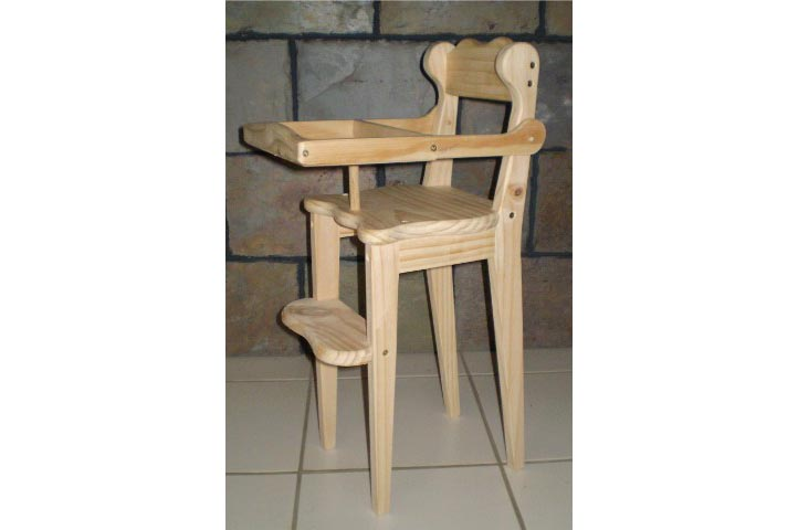 Toy High chair plan