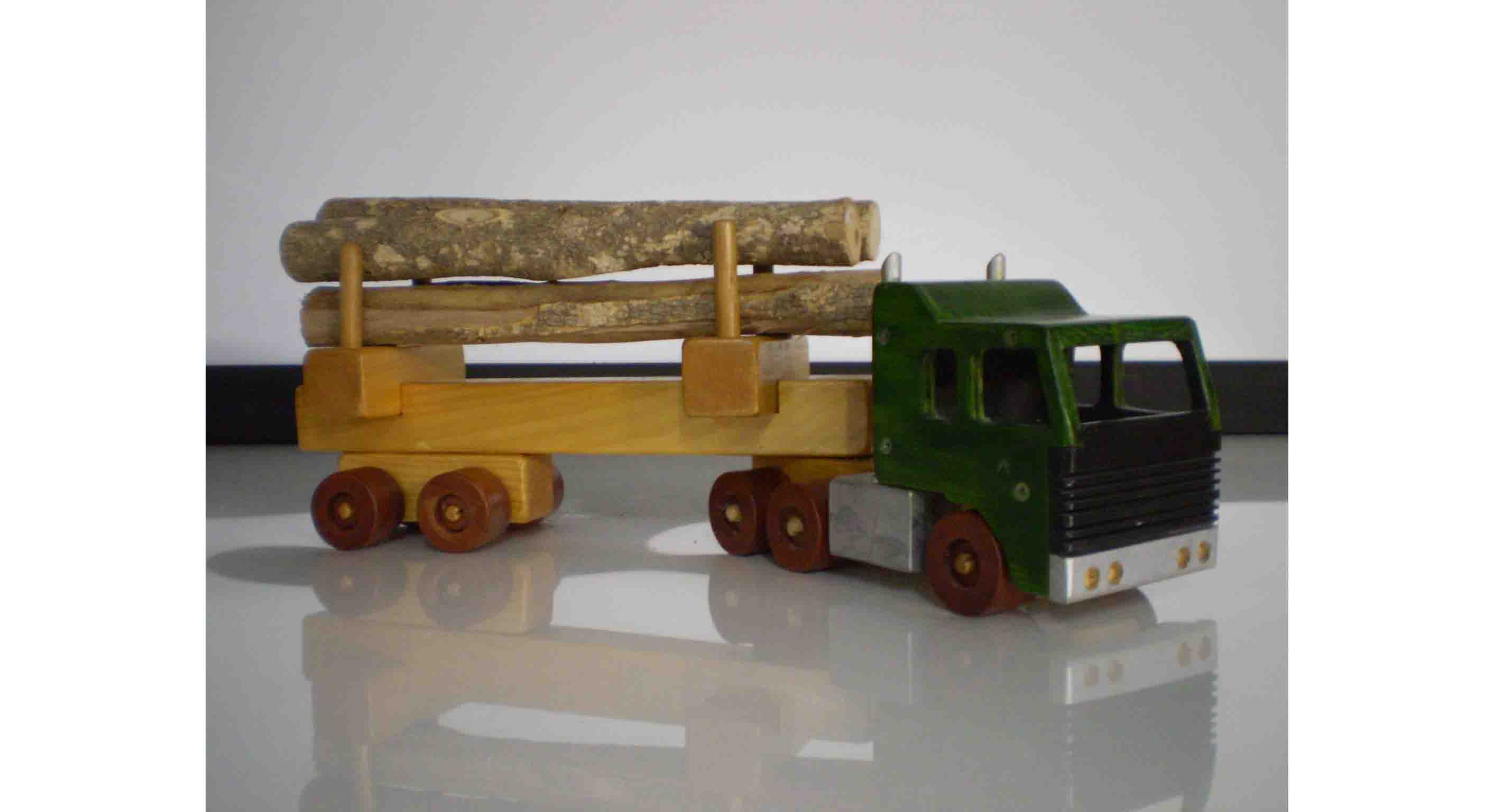 Cab Over Log truck plan