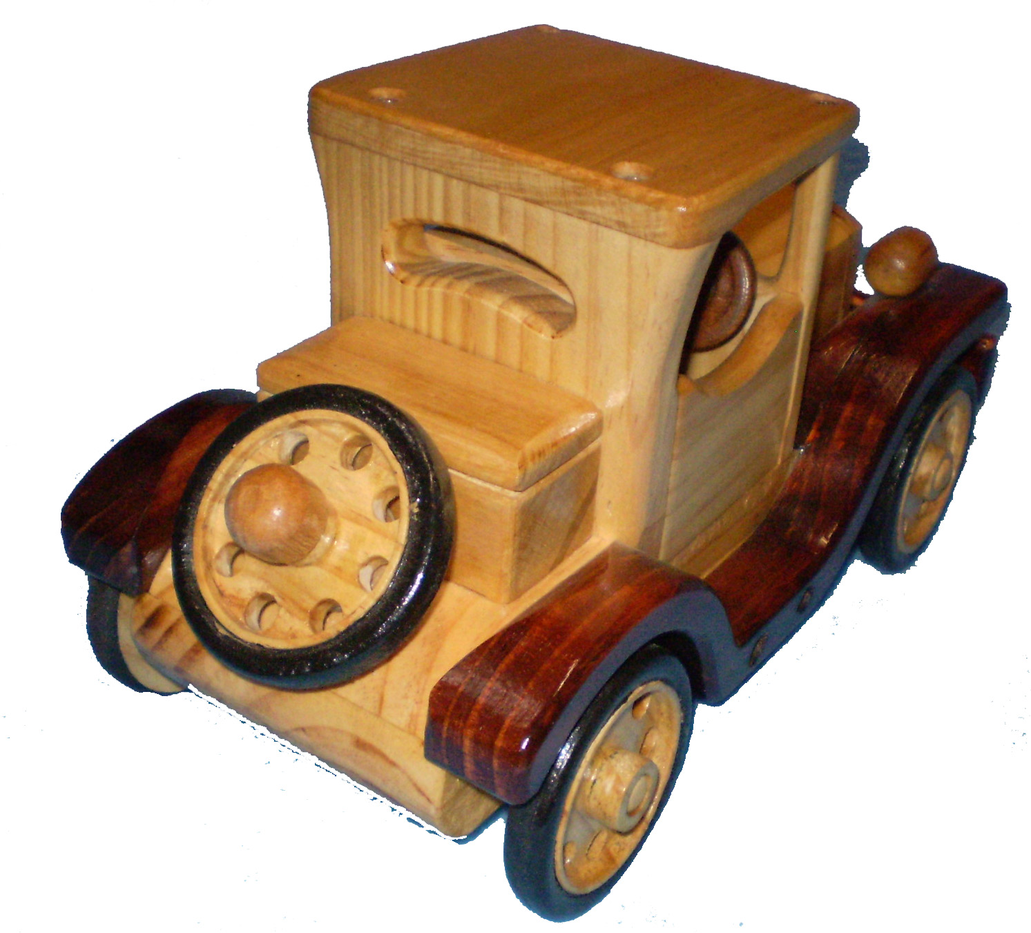 Ford Model T coupe wooden toys
