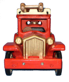 Ford Model T Fire engine wooden toys