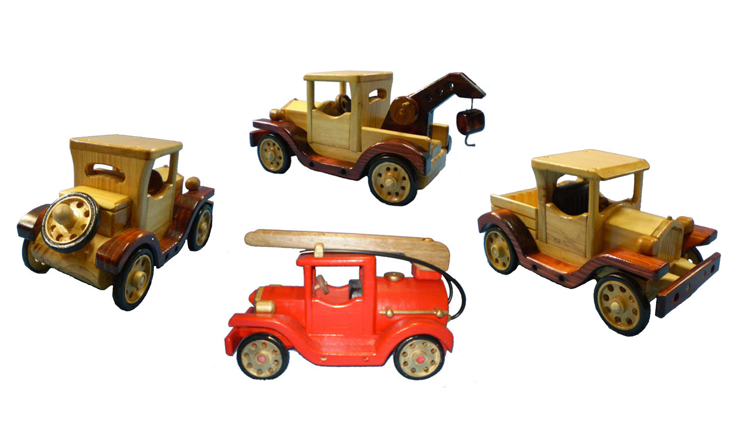 Ford Model T wooden toys